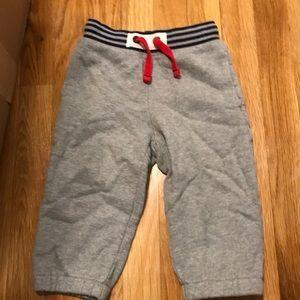 Mini Boden gray sweats size 2 year